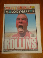 MELODY MAKER 1994 APRIL 2 HENRY ROLLINS BLUR SONIC YOUTH SMASH