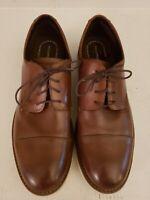 Rockport Men's Channer Oxford 14 Medium, Brown Leather