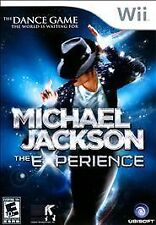 Michael Jackson: The Experience - The Dance Game - (Nintendo Wii) COMPLETE!