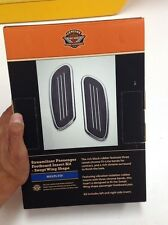 OEM Harley Streamliner Touring rear Passenger FloorBoards Foot Boards Inserts