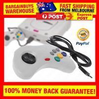 Retro USB Sega Saturn Style Gamepad Controller Wired Game Controller Joypad