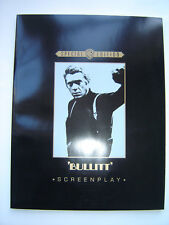 """BULLITT"" SCREENPLAY - 102 PAGE BOOK - WARNER BROTHERS 1968 FILM - STEVE MCQUEEN"