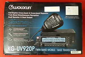 Wouxun KG-UV920P VHF/UHF Dualband Transceiver