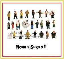 Homies series 11 all 24 different figures,  great for 1:32 dioramas HTF (loose)