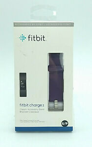 Fitbit Charge 2 Classic Accessory Band Purple Small New Free Shipping