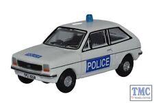 76FF004 Oxford Diecast Ford Fiesta MkI Essex Police 1/76 Scale OO Gauge
