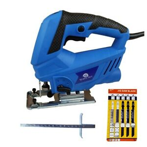 600W ELECTRIC JIGSAW COMPACT CUTTING POWER TOOL VARIABLE SPEED WOOD METAL CUT