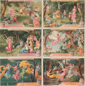 Original Liebigbilder Serie Nr. 680 von 1906 - Elfenspiel - sehr guter Zustand