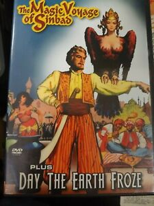 The Magic Voyage of Sinbad/Day the Earth Froze (DVD, 2005)