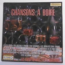 """33T LES COMPAGNONS DE LA BARRIQUE Disque LP 12"""" CHANSONS A BOIRE - MUSIDISC 1036"""