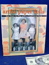ARTFUL PAPER DOLLS Terry Taylor NEW 1st Edition Art Craft Technique Book