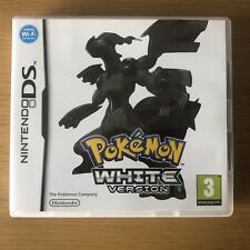 Nintendo DS Pokemon Game, White Version / Edition, Boxed With Inserts