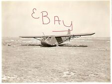 WWII 8X10 PHOTO 440TH TROOP CARRIER GROUP ENGLAND WACO GLIDER AT AIRFIELD LOOK