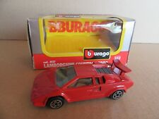 948G Burago 4127 Lamborghini Countach 5000 Red 1:43