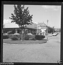 Supermarché Suma courses voitures - Négatif photo ancien an 1950-60
