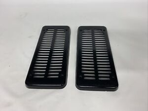 81-91 Chevy GMC Truck Blazer Rear Cab Speaker  Grille Covers Pair