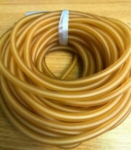 Natural Latex Rubber Surgical Band Tube Elastic For Slingshot. 2x5mm 1/2/3/5/10M