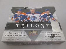 2016-17 UPPER DECK TRILOGY HOCKEY HOBBY SEALED BOX