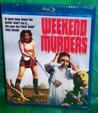 BRAND NEW RARE OOP CODE RED WEEKEND MURDERS GIALLO HORROR MOVIE BLU RAY 1972