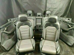 VW Touareg III CR7 R-Line Sitze Lederausstattung Sitzbelüftung Memory Massage