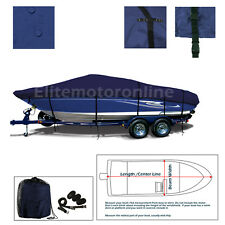 Bayliner 1750 Capri Bowrider Heavy Duty Trailerable Boat Storage Cover Navy