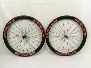 Bontrager Aeolus 5 D3 Clincher Wheelset, Custom-built, Orange Decals, BRAND-NEW!