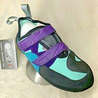 MAD ROCK Lyra Women's Climbing Shoe Teal/Violet/Black - Choose SIZE