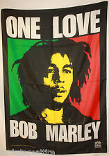 Bob Marley One Love Cloth Poster Flag Fabric Textile Tapestry Wall Banner-New!!
