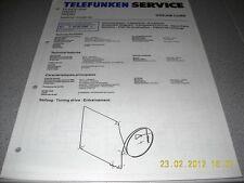 TELEFUNKEN radio Dream Cube schema elettrico