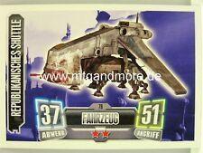 Force Attax Serie 2 Republikanisches Shuttle #078