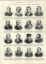1892 J Ross Qc Londonderry Rm Dane Fermanagh Jh Stock Walton Liverpool
