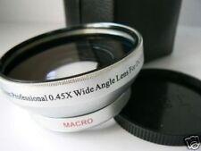 SL 43mm 0.45X Wide-Angle Lens For Samsung NX3000 NX3300 Camera w/16-50mm(43)