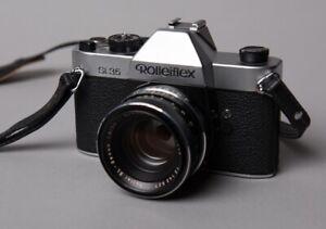 Rolleiflex SL35 Spiegelreflexkamera mit ObjektivXenon 1,8/50 mm