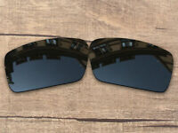 Vonxyz Polarized Lenses for-Oakley Gascan Frame Stealth Black