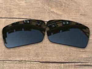 Vonxyz Polarized Lenses for-Oakley Gascan Frame Stealth Black
