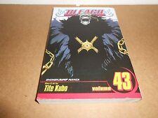 Bleach Vol. 43 by Tite Kubo Viz Manga Book in English