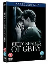 FIFTY ( 50 ) SHADES OF GREY  UNSEEN EDITION BRAND NEW SEALED UK DVD Free Post