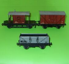 Hornby Dublo / BR Open Wagon, Goods Van & Brake Van
