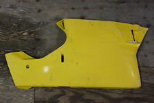 03 04 DUCATI 749 999 YELLOW LEFT LOWER COWLING PLASTIC FAIRING 999R 749S 999S