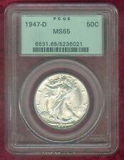 PCGS MS 65 1947-D Walking Liberty Half Dollar