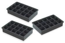 infactory 15-fach Jumbo-silikon-eiswürfelform für 0,5 Liter Eis