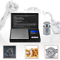 0.1g x 1000g Portable Professional Digital Pocket Scale with Calibration Weight