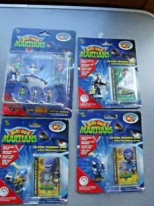 Butt ugly martians 3 pks Trading Cards 1 set collectible Figures