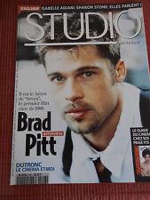 STUDIO MAGAZINE CINÉMA BRAD PITT N 106  ANNÉE 1996 ( C2 )