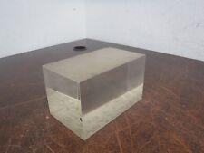 "Rectangular Prism Cuboid Glass Blank Optics Optical 5"" x 3"" x 3"""