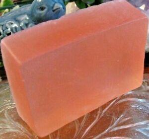 """New Handmade Natural """"Sandalwood"""" Men's Fragrance Glycerin Bar Soap"""