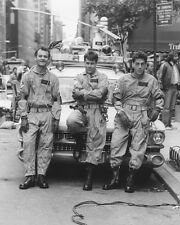 Ghost Busters Bill Murray Dan Aykroyd Harold Ramis Car 16x20 Canvas Giclee