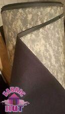 """Neoprene Digi Digital Green Camo Camouflage 62"""" Wide 1/8"""" Fabric Wet Suit Water"""