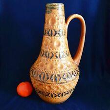 Edele Vase 60er 70er Jahre  Bay Keramik in topaktueller Modefarbe 225 30