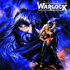 "WARLOCK ""TRIUMPH AND AGONY"" CD NEUWARE"
